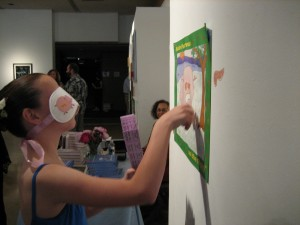 dancer playing pin the pancreas